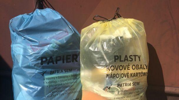 Odvoz triedeného odpadu