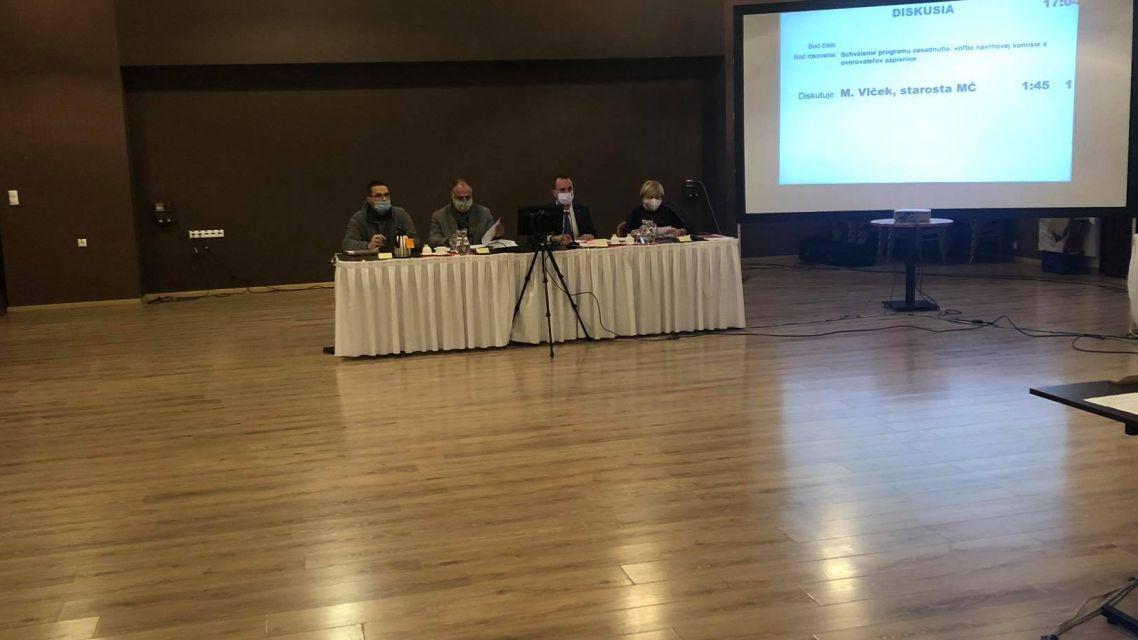 Správa z novembrového zasadnutia miestneho zastupiteľstva vo Vajnory