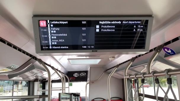 Dopravný podnik pokračuje v skvalitňovaní poskytovaných služieb a prináša cestujúcim ďalšie inovácie v oblasti informačných systémov