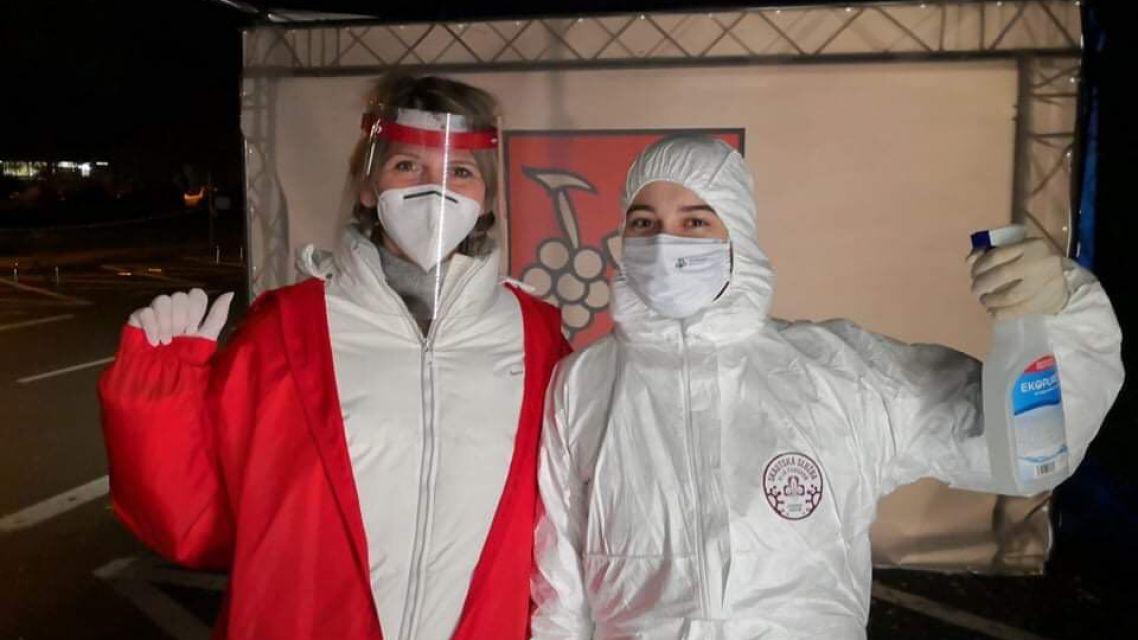 Ako sa nám darilo v prvý deň dobroviľníčenia v rámci testovania na Rybničnej