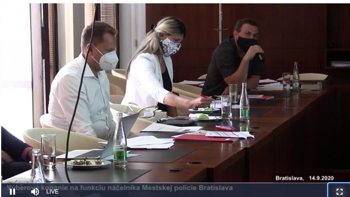 Spomedzi uchádzačov o post náčelníka Mestskej polície vybrala komisia Miroslava Antala