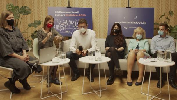 Zapojte sa do procesu plánovania vízie Bratislavy pre obdobie 2030