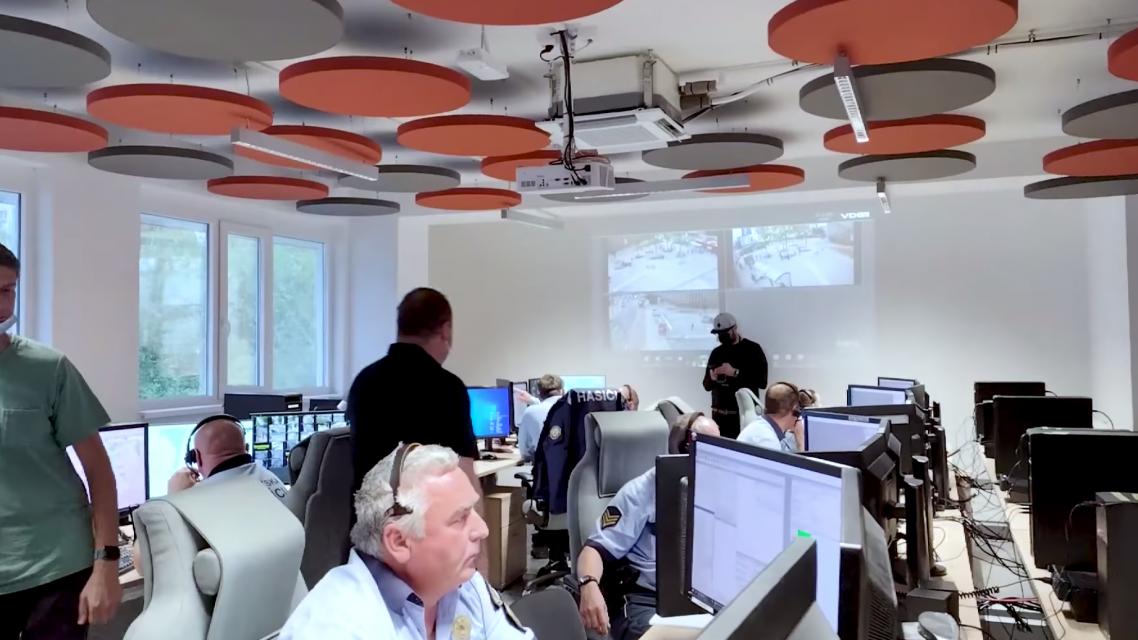 Bratislava otvorila unikátne operačné stredisko Mestskej polície